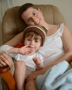 Jonah and Mommy on the rocking chair copy