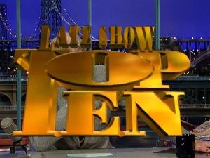 Letterman top 10